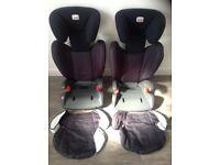 Britax - ISOFIX type child seat - Pair BARGAIN!