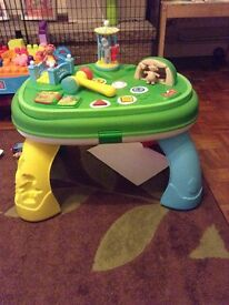 In the night garden interactive activity table