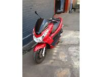 HONDA PCX 125 FOR SALE ONLY 4000 MILES