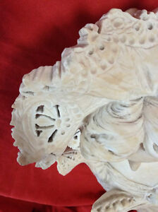 Antique Late 19th Century Fine Alabaster Bust Of Young Woman Peterborough Peterborough Area image 4