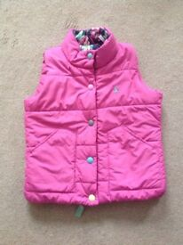 Girls Joules Gilet Age 6