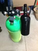 scuba tank for paintball