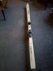 Head downhill skis