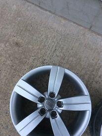 """4 Audi - Volkswagen 17"""" alloy wheels"""