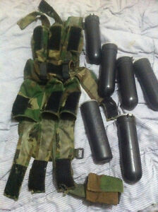 Paintball PODS with Belt