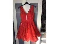 Red prom/occasion dress
