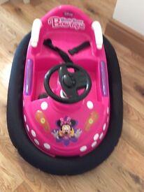 Minnie Mouse rechargeable car/dodgem