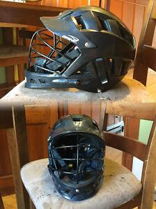 Black Brine Triad ST2 Lacrosse Helmet