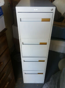 """4 Drawer Filing Cabinet """"Great Quality"""" By Cole Exc. Cond!! $50"""