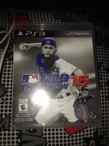 MLB 15 the show used PS3