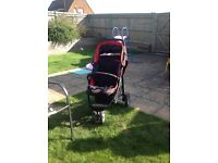 Red kite buggy for baby/child up to 3years old