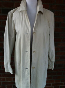 GAP Relaxed Classic Lightweight Button Beige Cotton Trenchcoat M