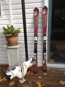 Ski et bottine pour dame