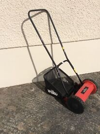 Push drive mower