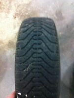 1 good year Nordic 185/65/14 winter tire