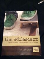 The Adolescent: Development, Relationships & Cultures