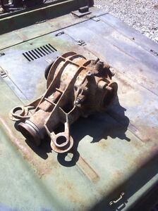 bombidier iltis military army jeep type 181  rear differential