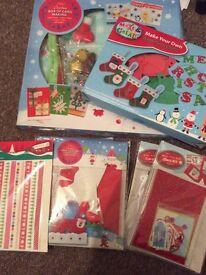 Bundle of kids Christmas craft