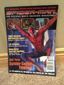 Spiderman 2002 Official Souvenir Movie Magazine--NEW PRICE!! Kitchener / Waterloo Kitchener Area image 1