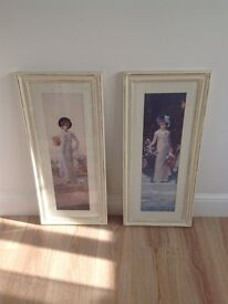 Two shabby chic pictures