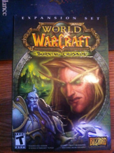 WORLD WARCRAFT BURNING CRUSADE EXPANSION SET