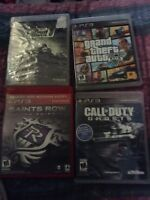 4 games for 20 or 30$ for PS3