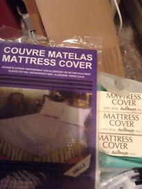 4 X Single Matress Covers