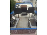 Dejon 14 ft boat and trailer