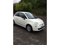 FIAT 500 1.2 POP 3 DOOR HATCHBACK 1 OWNER FROM NEW £30 A YEAR RFL 2013-63