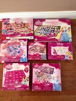 Lot de jeux de société Princesses de Disney