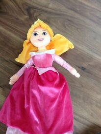 Disney Aurora soft doll