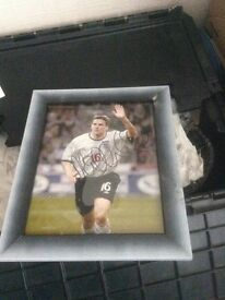 Michael Owen signed picture