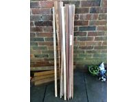 10 hardwood stakes brand new