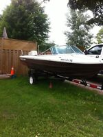 16foot boat with trailer  Trade!