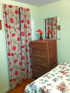 STAY  FOR AUGUST IN THIS PLEASANT ROOM