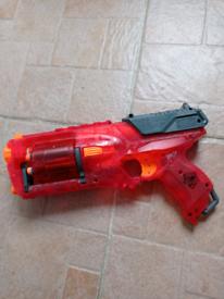Red nerf gun