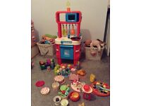 Elc play kitchen and accessories