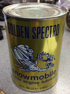 Vintage Golden Spectro oil can