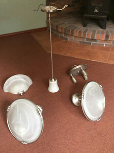 Quality SS Ceiling Lights (Set of 5)