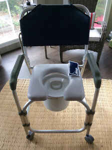 Drive Lightweight Portable Shower Chair/Commode