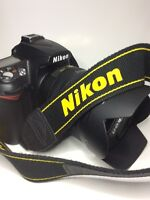Nikon D90 body only! Lens sold.