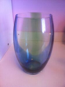 PARTYLITE SPRING ART GLASS HURRICANE