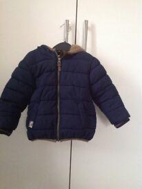 Next padded jacket 12-18 mths