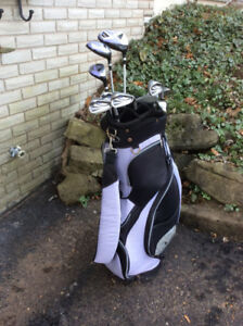 Golf Clubs, Women's RH set, 12 piece