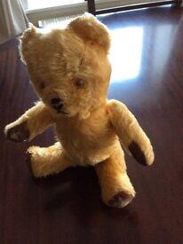 1950s mohair teddy bear