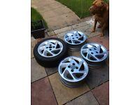 Escort rs turbo alloy wheels