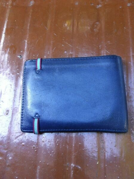 Carre Botal Paris leather wallet.   Dimension 12 x 9.   In good condition.