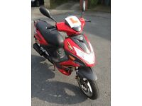 2011 lifan aero 50cc moped 12 months MOT