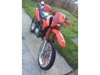Honda xr 125 enduro road legal