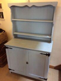 Welsh dresser ideal project pale blue